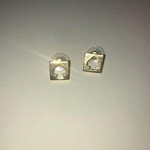 Gold Kate Spade earrings